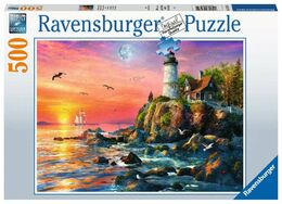 Palapeli 500 Ravensburger Lighthouse at Sunset