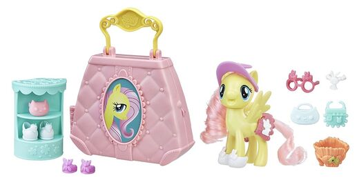 My Little Pony Purse Pet Car Fluttershy