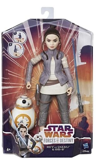Star Wars Forces of Destiny: Rey of Jakku and BB-8